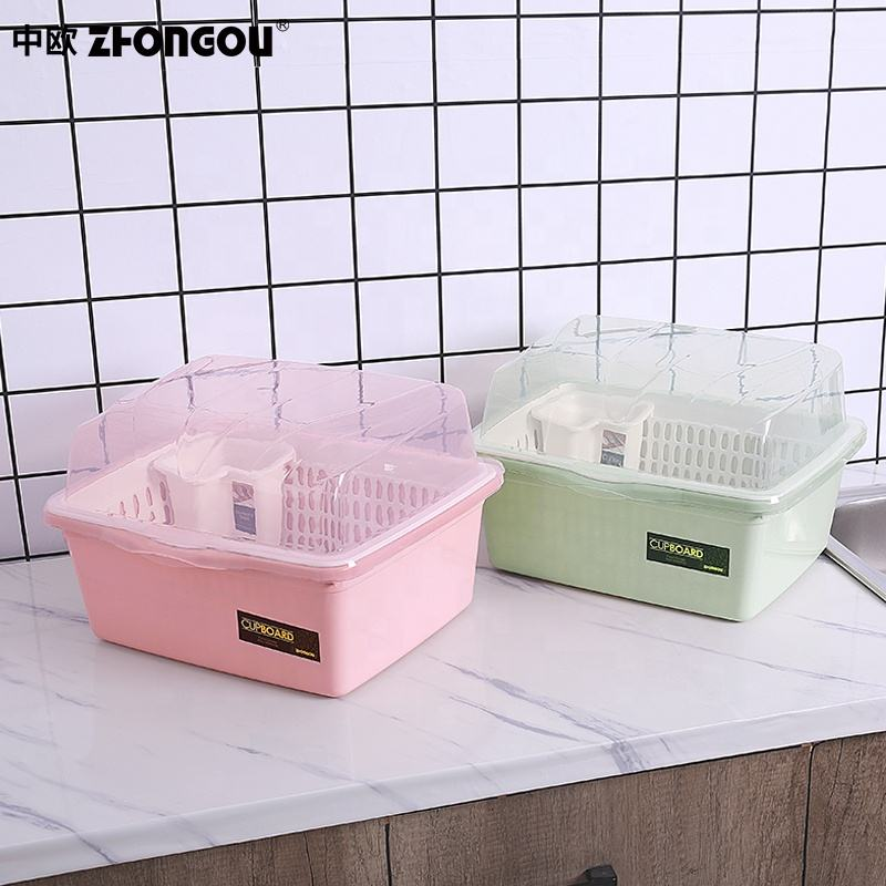 High Quality Kitchen Plastic Dish Drying Rack