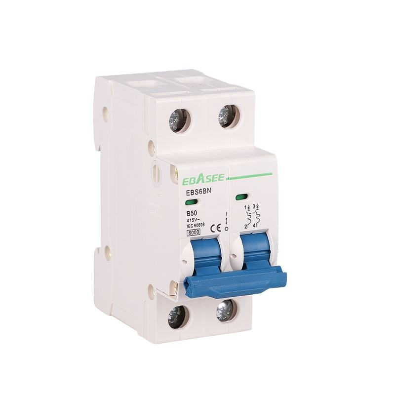 Factory supplier price 1-63A 240/415V mcb circuit breaker