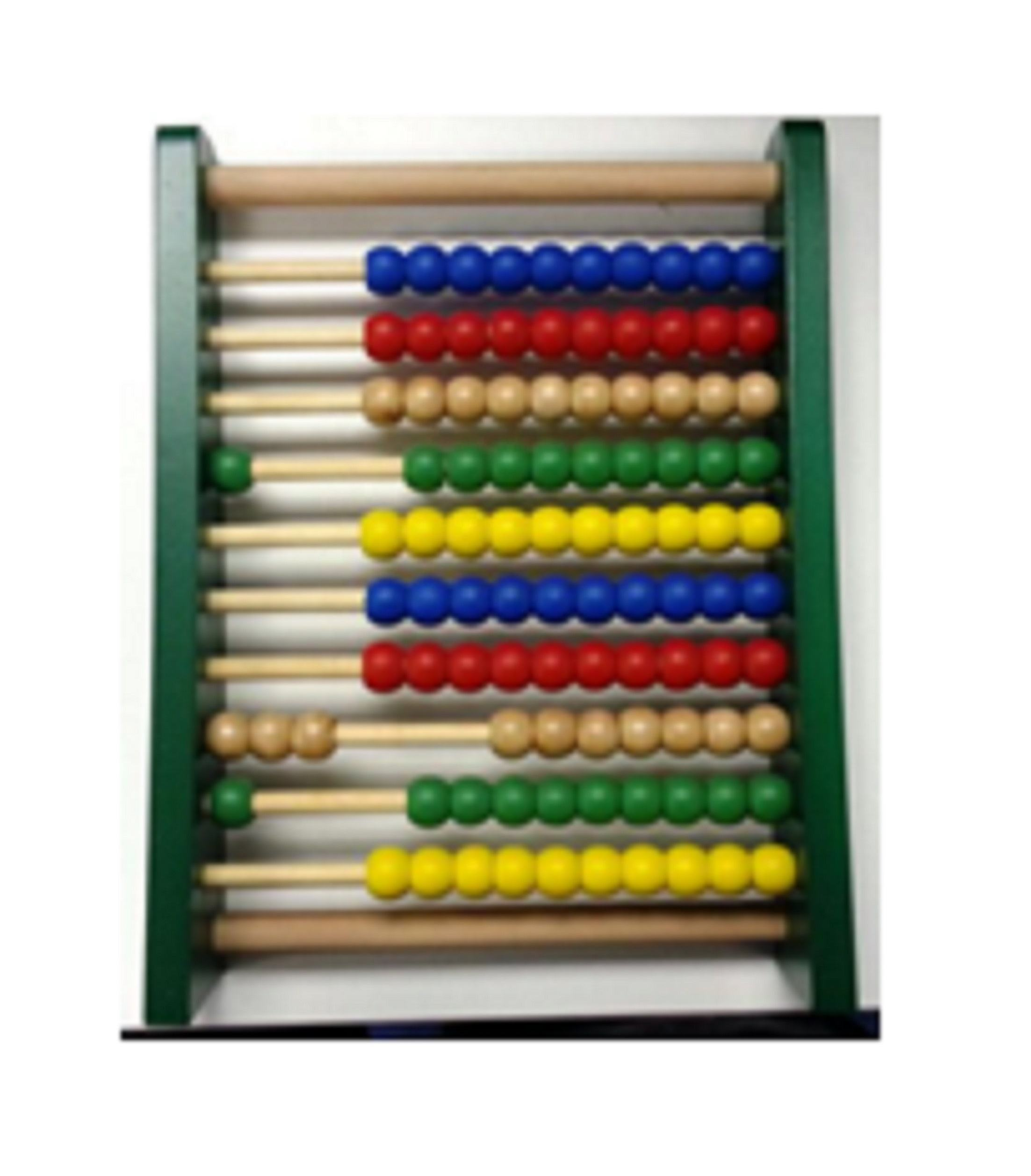 Hot sale educational Colored Children Abacus Toys Rubber Wooden Abacus