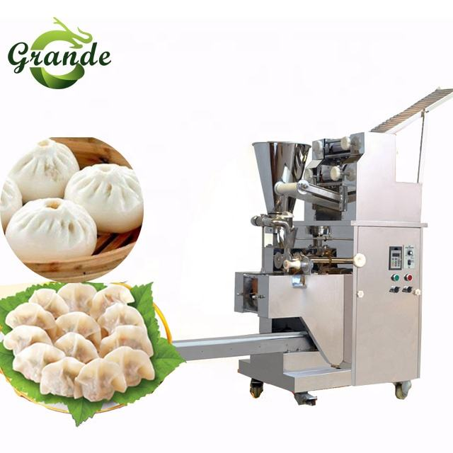 GRANDE 110v/220v/240v Automatic Dumpling Making Machine Empanada/Samosa/Liuye/Leaf Dumpling MachineとAdjustable Size