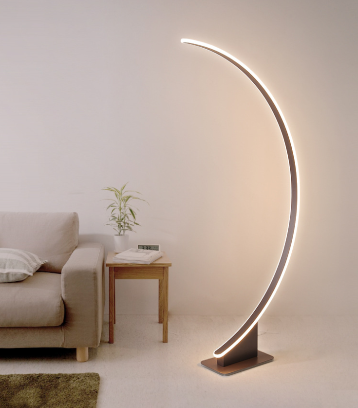 Approved Modern LED Floor Lamp in floor /Light for Hotel Aluminum from China Piano floor lamp