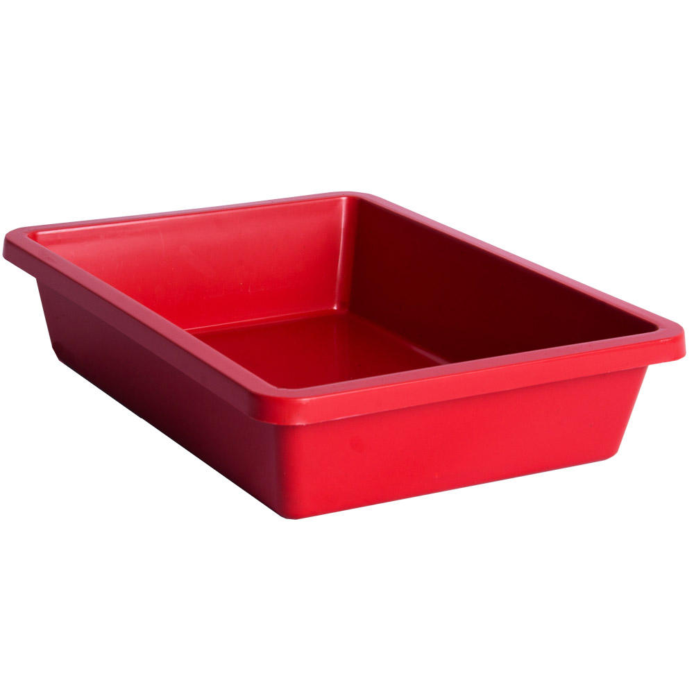 Cooked cold dish food display tray plastic tray