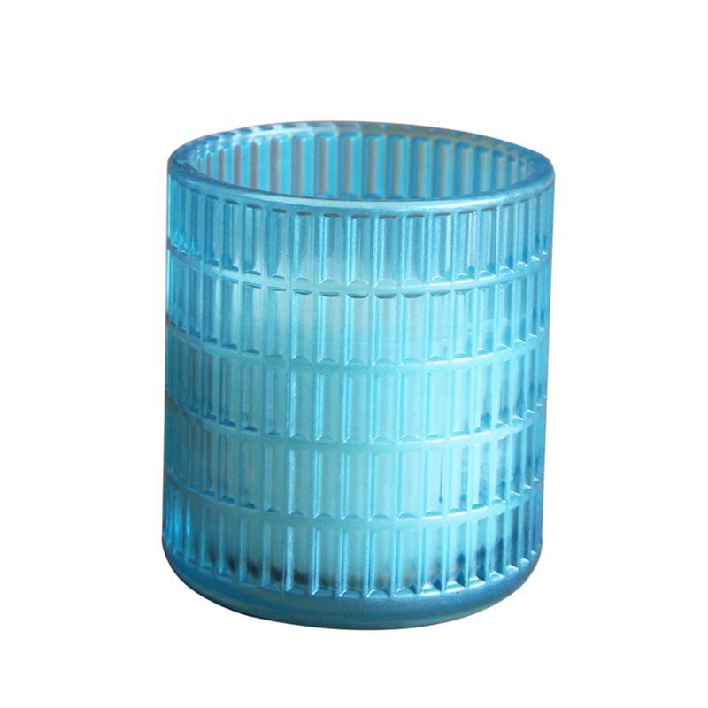 Gran venta brisa del océano frasco de vidrio vela de <span class=keywords><strong>cera</strong></span> de parafina con aceite esencial puro de sal de mar niebla velas