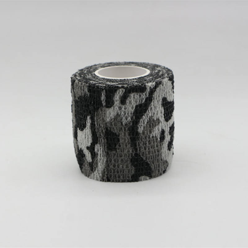 Outdoor hunting disguise equipment camouflage Waterproof cotton fabric silent tape