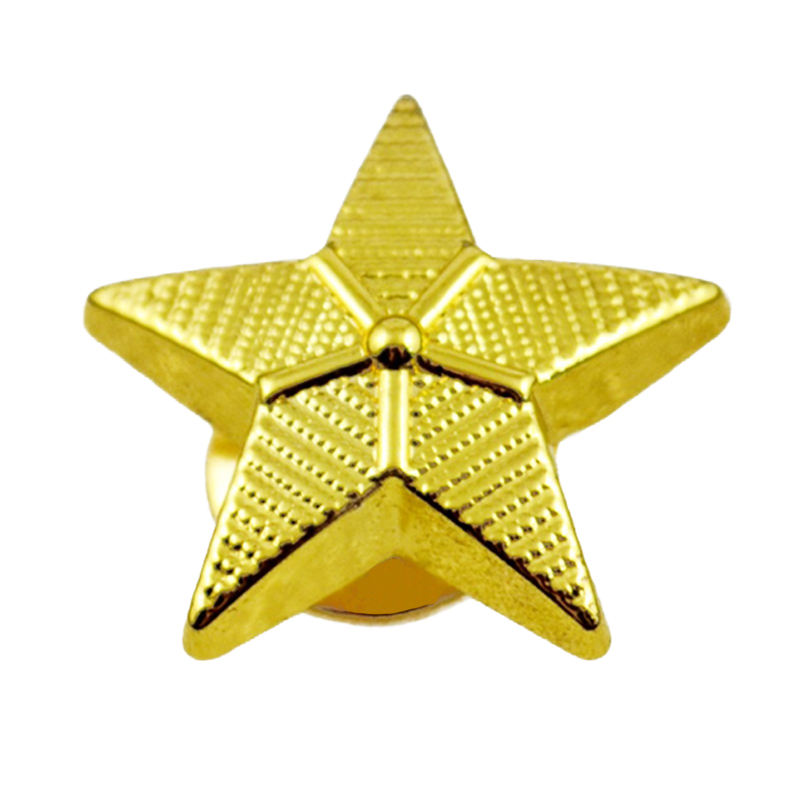 China Factory Professional Custom Logo Anime Star Shaped Copper Enamel Pin