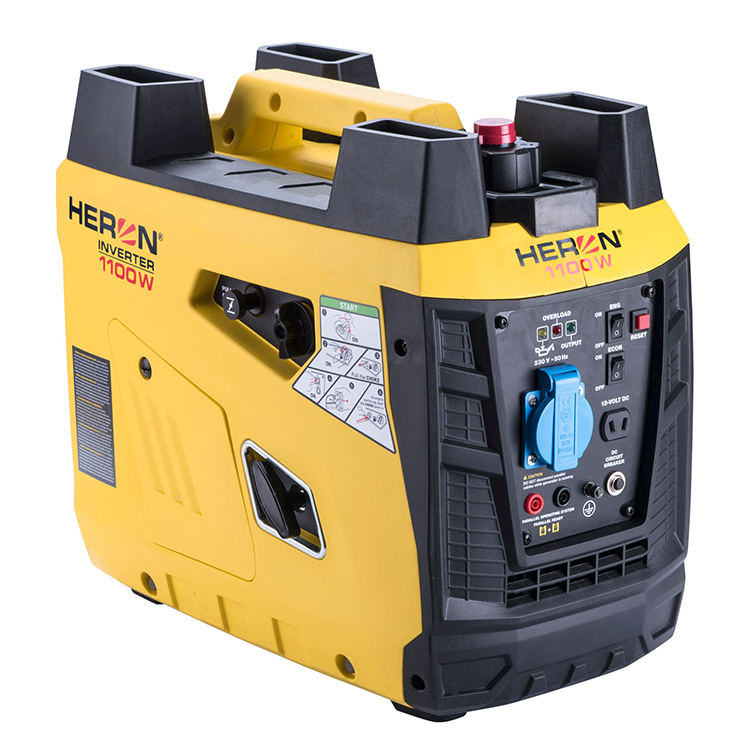 8896218 Super Silent Petrol Generator Original Mini 1.1kw Portable Mute Digital Inverter Gasoline Generator