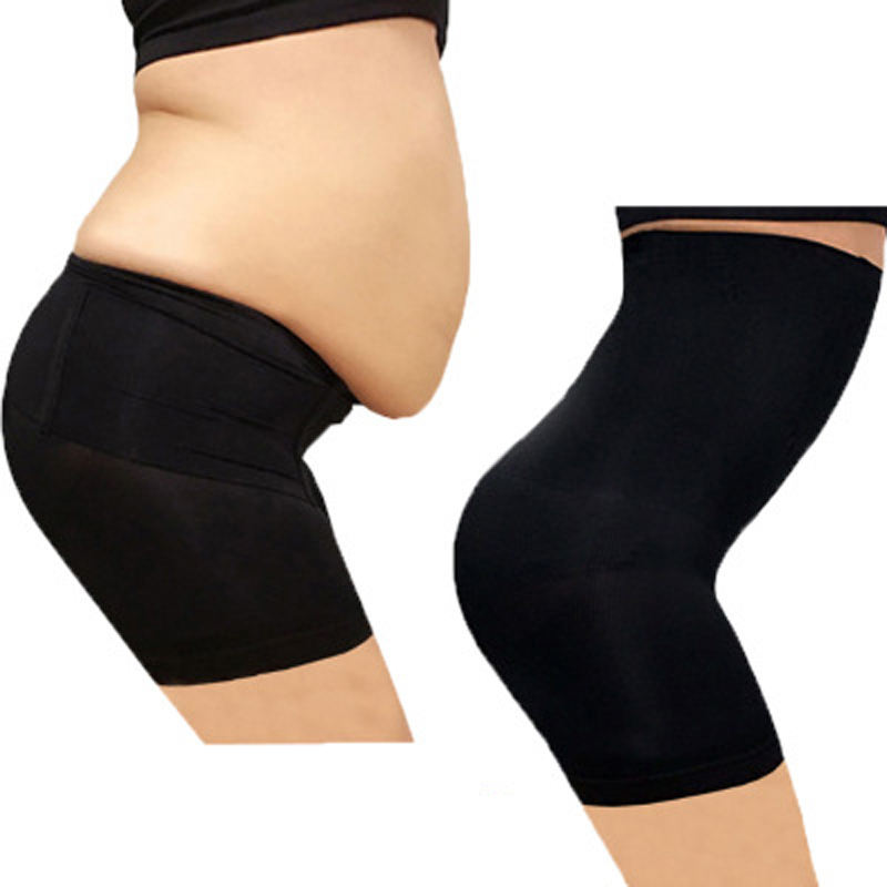 Women cintura alta panty girdle seamless Pull body shaper gaine amincissante femme invisible tummy control in stock