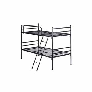 Safety and environmental protection metal double bunk bed sale