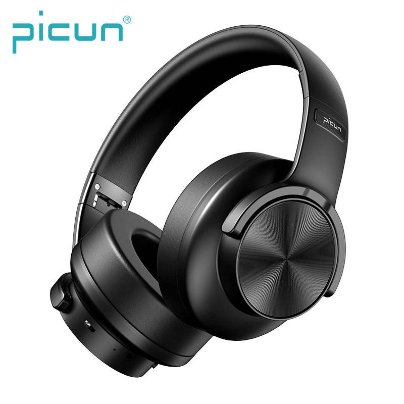 Picun B8 Foldable BT Mobile Phone Stereo Music Headset Bluetooth Headphones Wireless