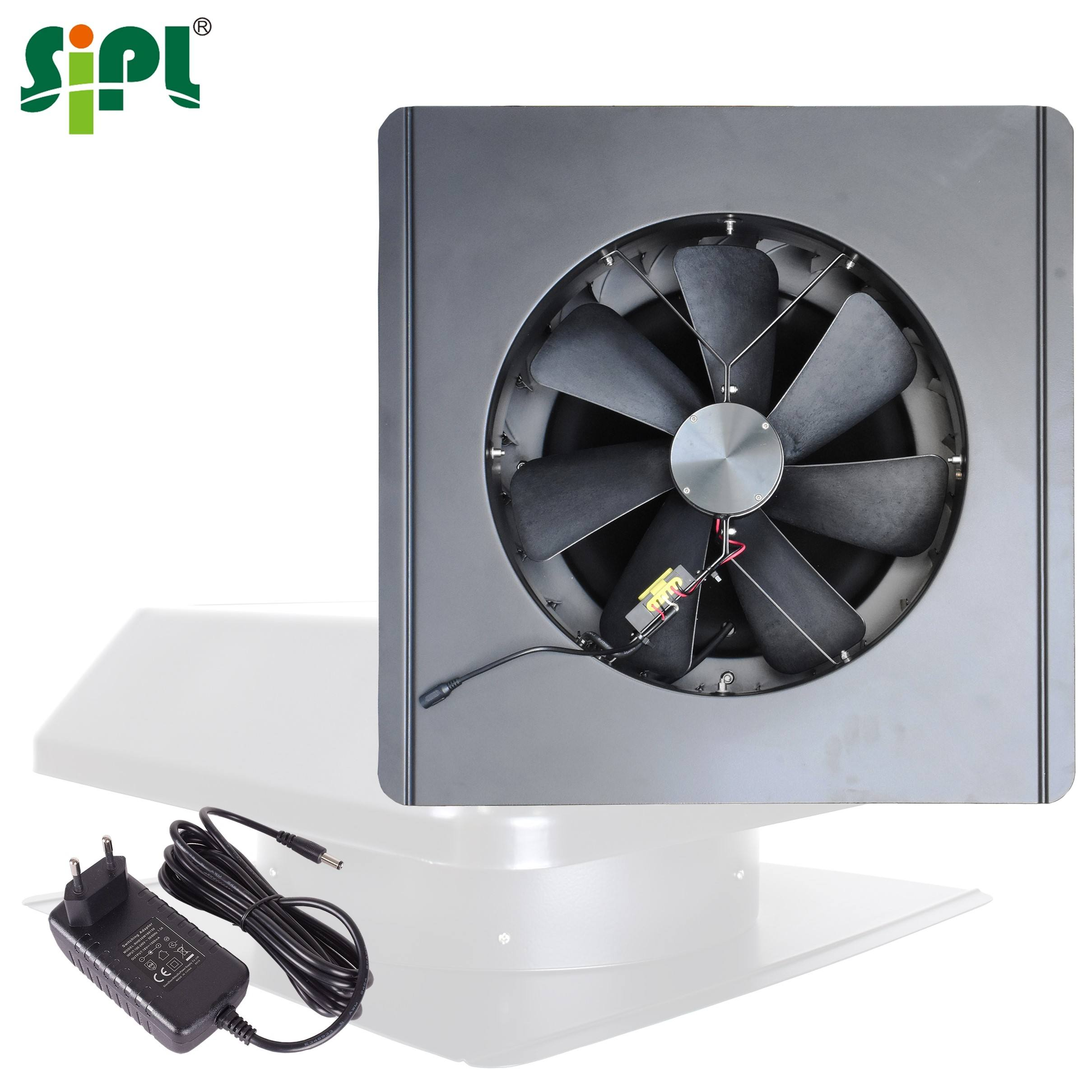 Sunny Attic Gable Vent Tools 24Hrs Fresh Air Circulation Heat Conditioning Roof Fan Solar Ceiling Ventilation Home Exhaust Fan