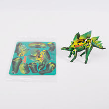 Wholesale custom plastic PP 3d puzzle diy toy