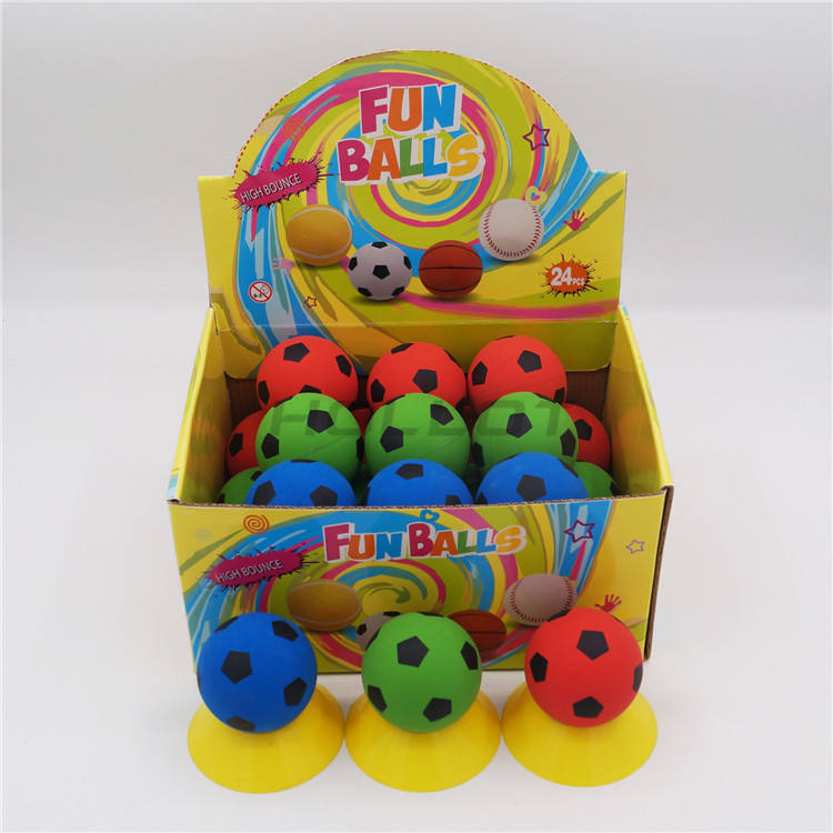 Outdoor sports bouncing ball beach hollow rubber ball