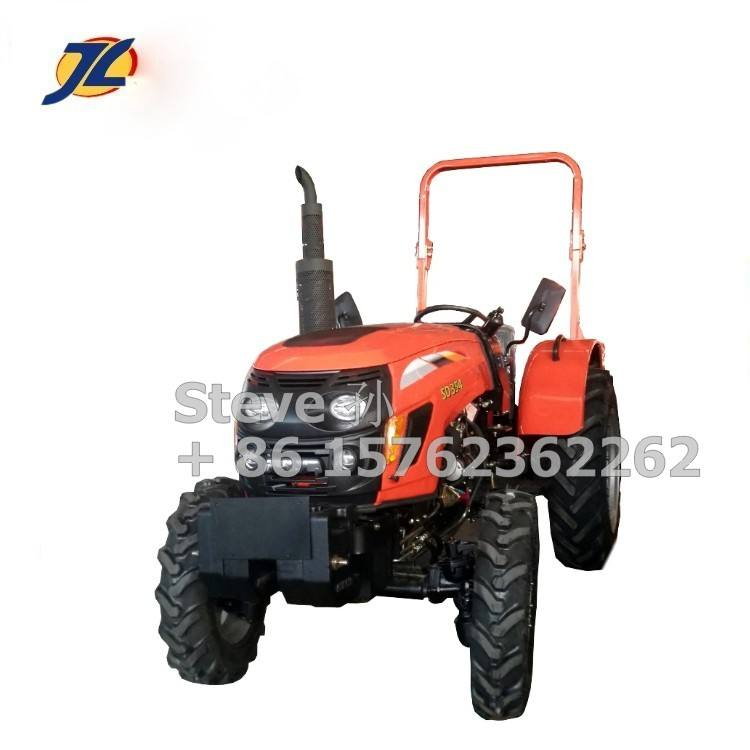 China mini tractor 35HP tractor 4 en 1 cargador frontal