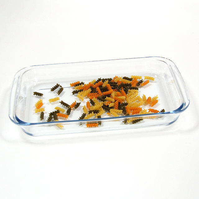 wholesale child pyrex glass customized square ceramics baking plate