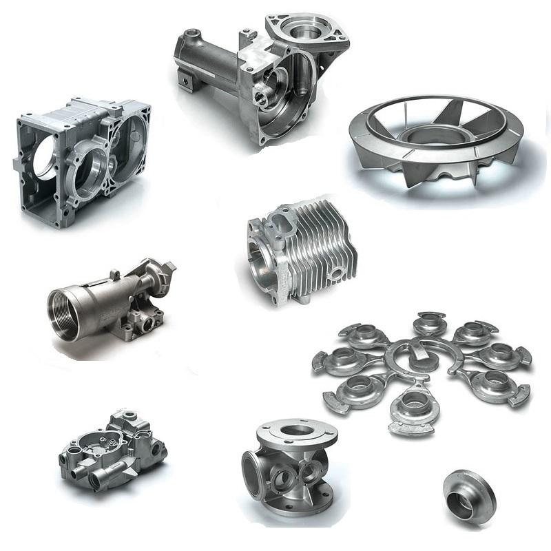 Aluminum high pressure die cast part supplier alloy castings A360/ADC12 die casting product