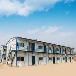 China modular prefabricated houses Easily Assembled Temporary K Type Construction Site House