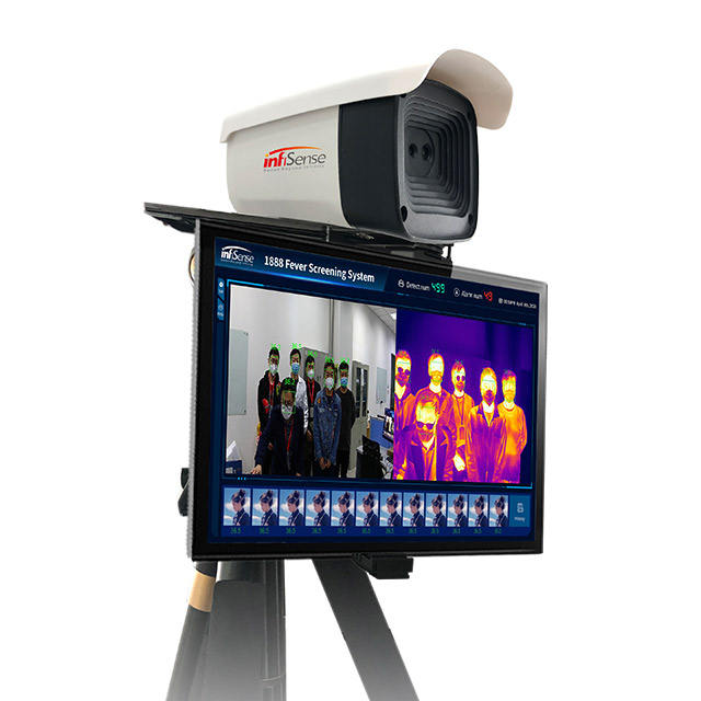 Quick AI FS256 PRO Thermal Imaging System Fever Face Thermal Warning System Enterprise Office Railway Station Mall