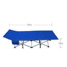 wholesale cheap single cot bed / oxford folding bed for travel camping