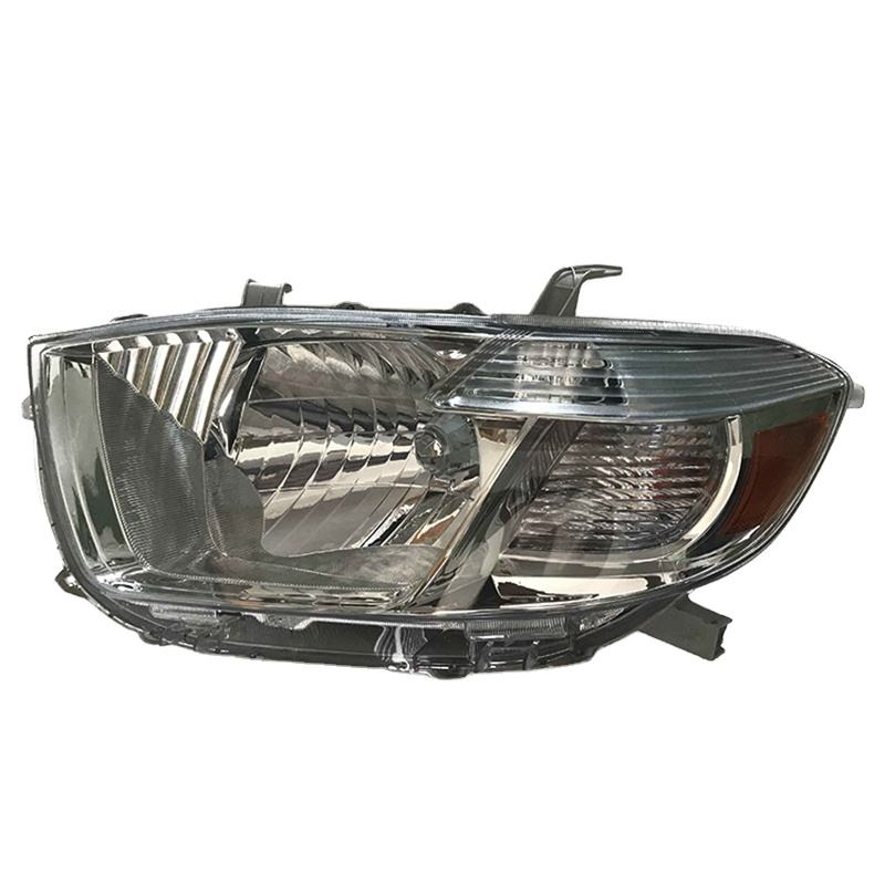 PORBAO HID Xenon Lamp Auto Parts Head Light for Higlander 07-11Year