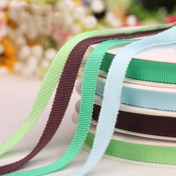 Factory Personalized 63 Mixed Colors 10-25 MM Width Stocked Grosgrain Petersham Ribbon