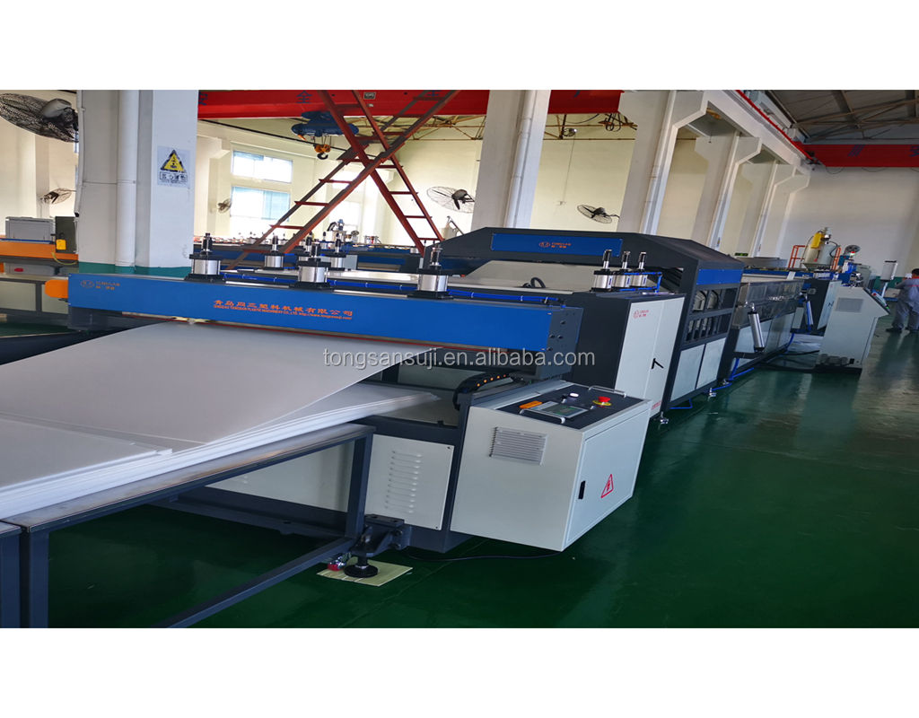 1200 PP hollow corrugated sheet extrusion machine