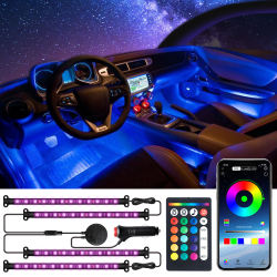 Interior Car Lights 2 in 1 Design Car LED Strip Lights Multi