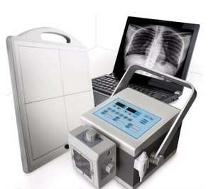 2020 New tech mobile digital DR x ray machine with flat panel detectorFlat Panel Detector