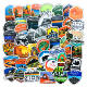 50 pcs/bag National Park Personality Waterproof PVC Sticker Vinyl Removable Sticker For Cup/Laptop/Skateboard/water bottle