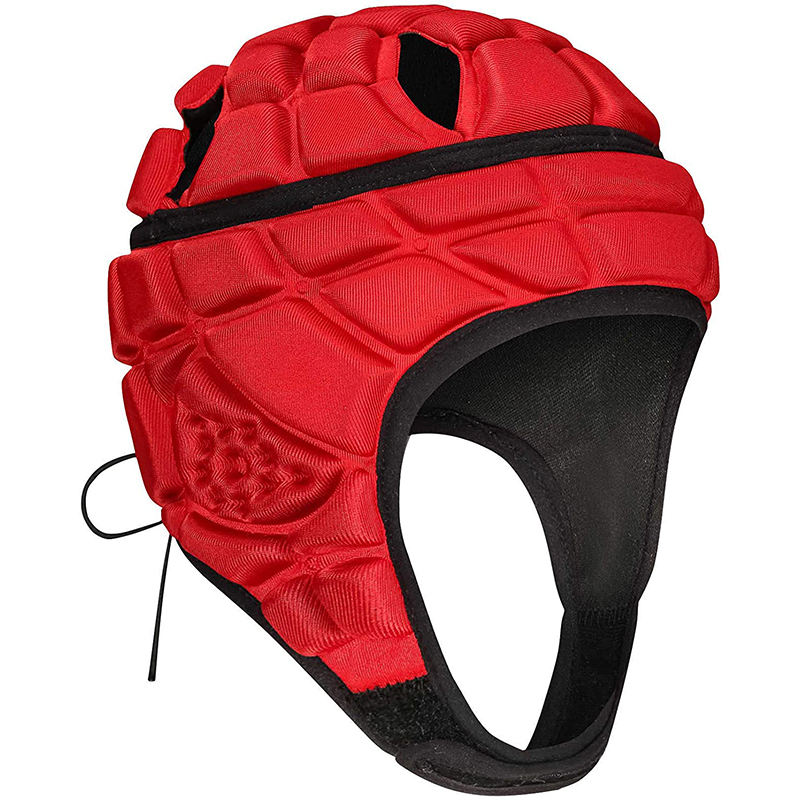 2020 Head guard Adjustable Head Protector Training Soft Shell Padded Helmet for Football
