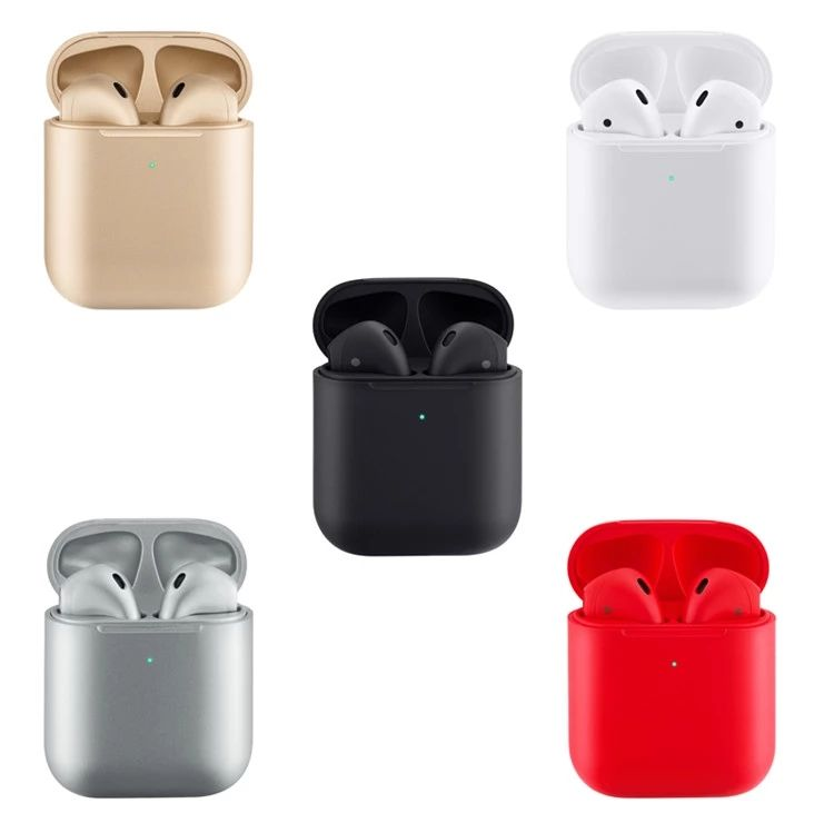 I200 vivavoce auricolari portatile air pod wireless 5.0 compatibile per andrio e ios bluetooth dropshipping i500 tws