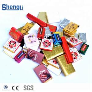 Factory Manufacture Chocolate Bar Wrapper Packing Machine