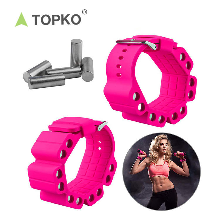 TOPKO hot selling leg training ankle wrist weights 2kg
