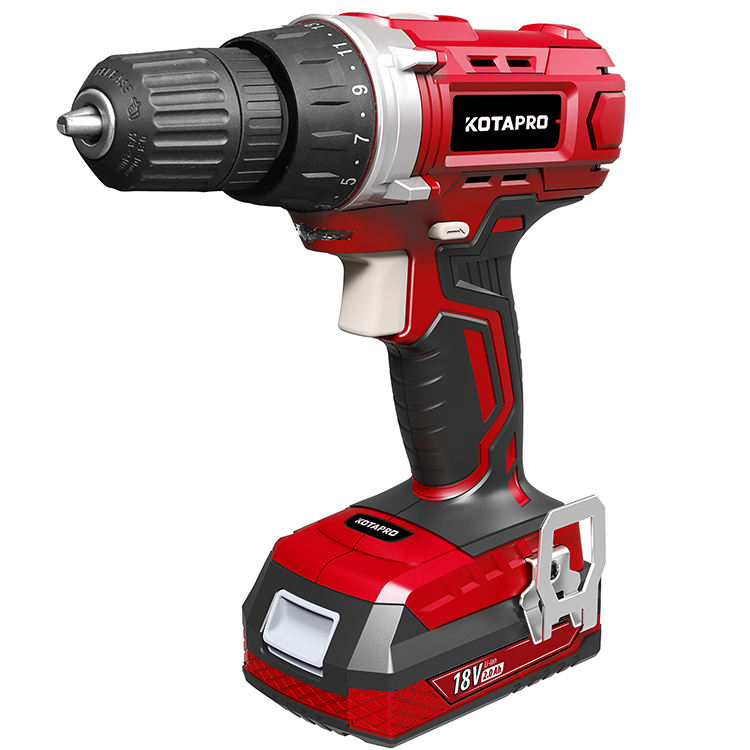 35N.m 18V Cordless Drill With Led Light