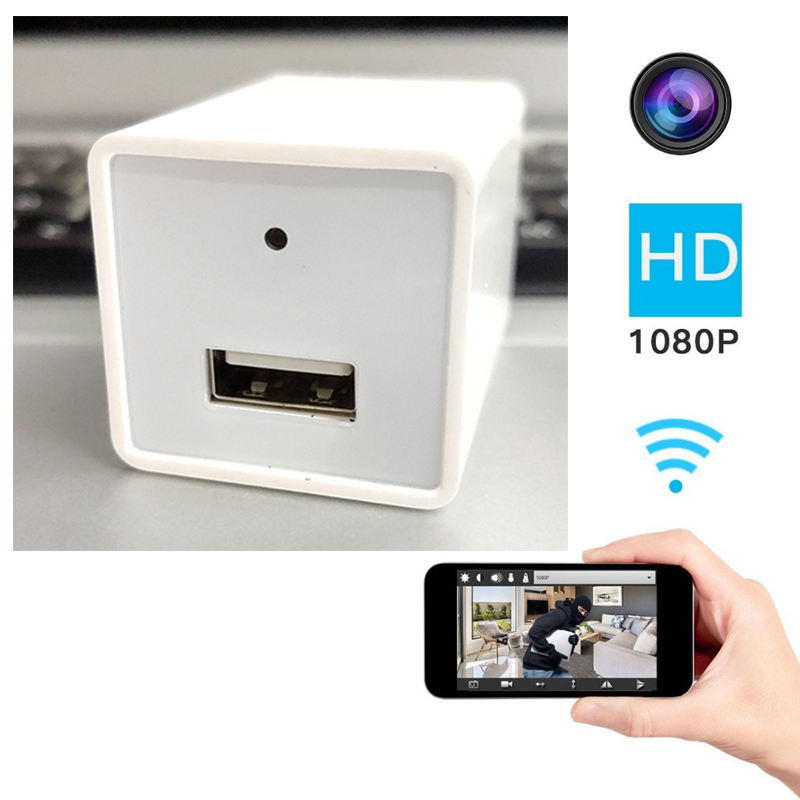 New product Z99 white Invisible Mini HD 1080P Spy Hidden WIFI USB Plug Wall Charger Camera