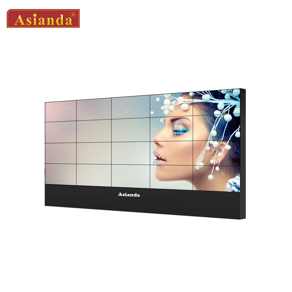 LCD video wall 49 inch 4K controller splicing screens TV media video wall display with led backlit
