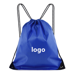 2019 High Quality Custom Logo Printed Recyclable Polyester Material Sports Gym Bag