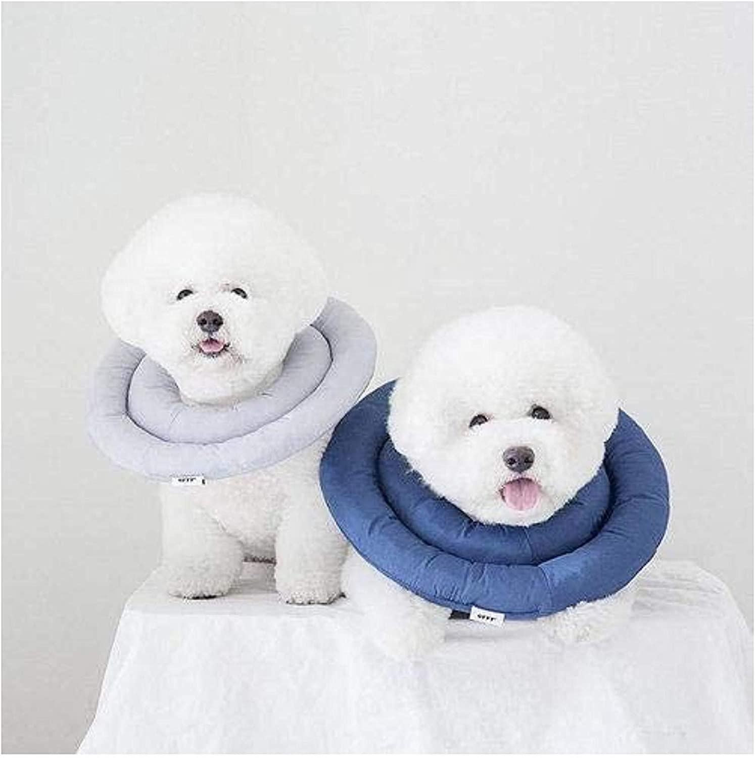 Dog Comfy Cone Soft Recovery Collar After Surgery Waterproof Pet Cone for Dogs and Cats