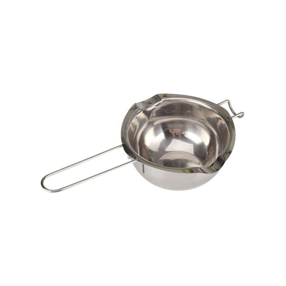 Stainless Steel Double Boiler Pot for Melting Chocolate Candy Making Stainless Steel Baking Tool Chocolate Melting Bowl