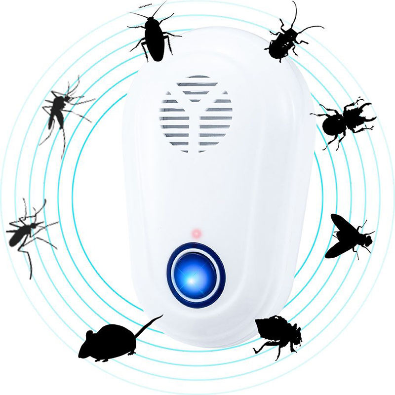 Fashion Outdoor Ultrasonic Pest Repeller Killer Mosquito cockroach Repellent