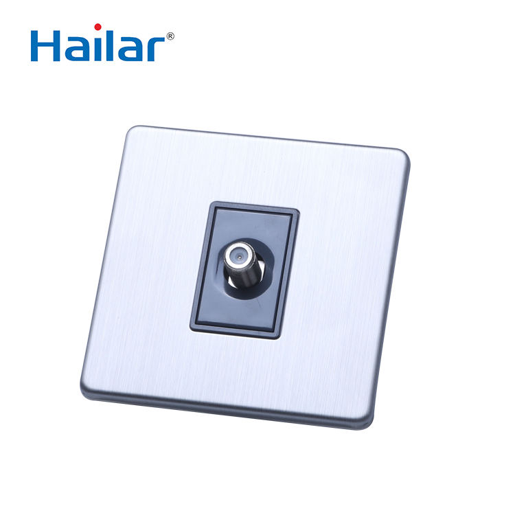 Hailar UK wall satellite switch tv สายซ็อกเก็ต