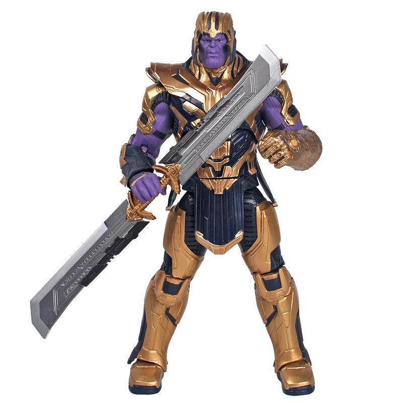 custom 8 inch movable mieba helmet armor unlimited gloves genuine Marvel Avenger alliance 4 doll toys