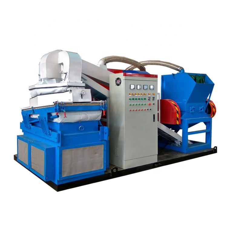400 type best scrap cable copper wire crusher machine 2020 year
