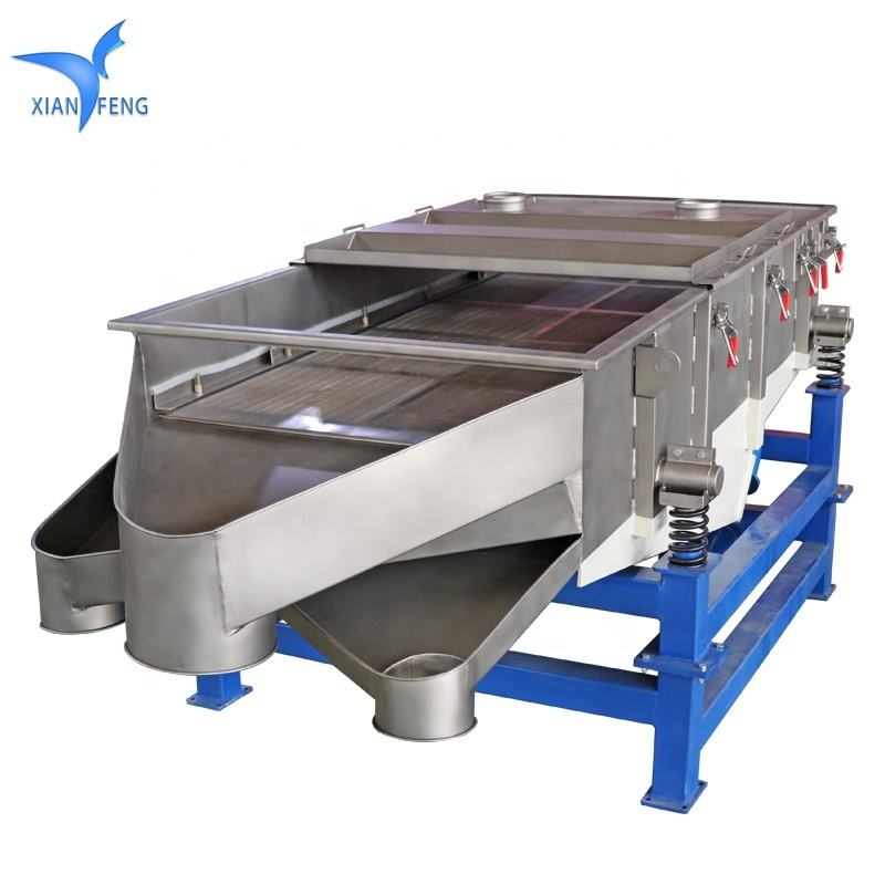 XFZ1020 500KG per Hour capacity sieving machine for tobacco plant