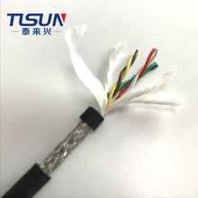 HF-CY(ST) High Flexible Twisted Pair Towline Cable With Shielded 3*2* 0.15mm2