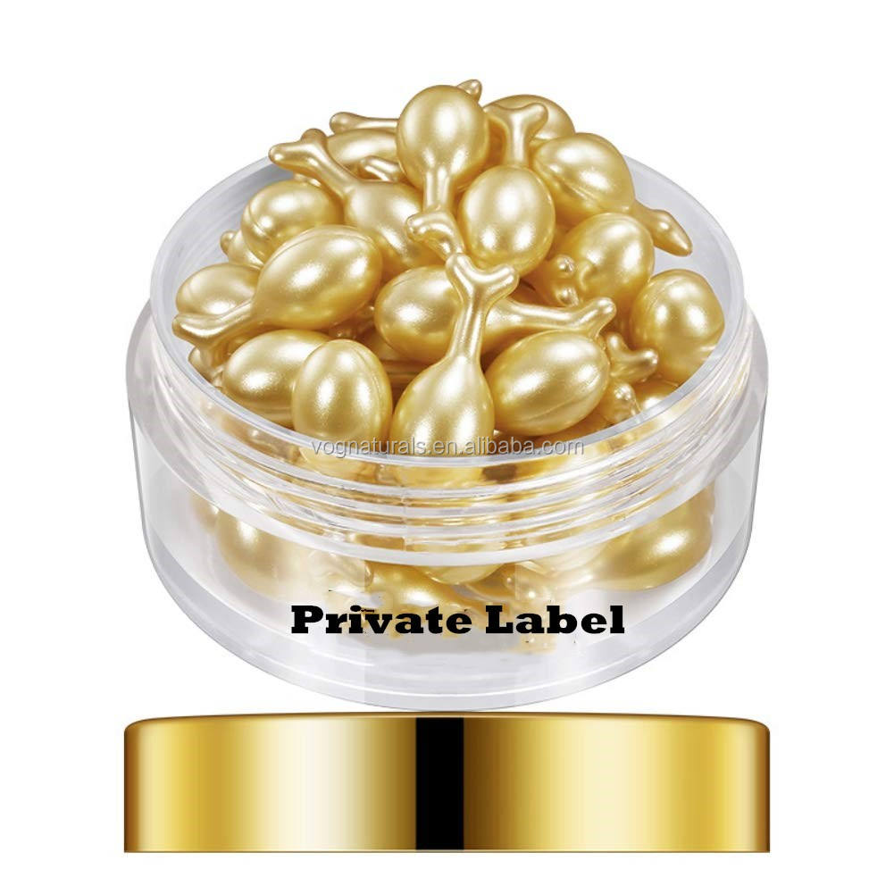 Private Label Reducing Fine Lines Skin Brightening Hydrating Firming Lifting Face Serum Capsules,Beauty Capsules with Vitamin E