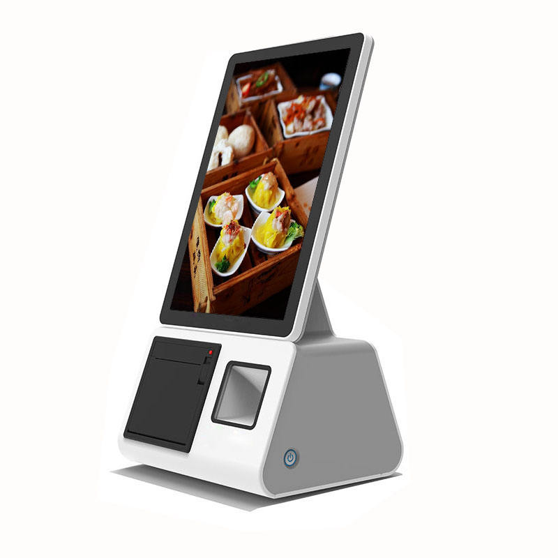 10.1 inch 800*1280 IPS Capacitive touch screen desktop Self Service Kiosk with QR code payment