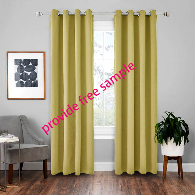 Luxury Modern Shade Petal Blackout Curtains for Living Room the Bedroom Window
