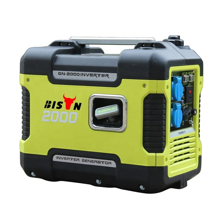 BISON(CHINA)Hot Sale! 6kw Inverter Generator Rechargeable Electric Generator Portable For Camping
