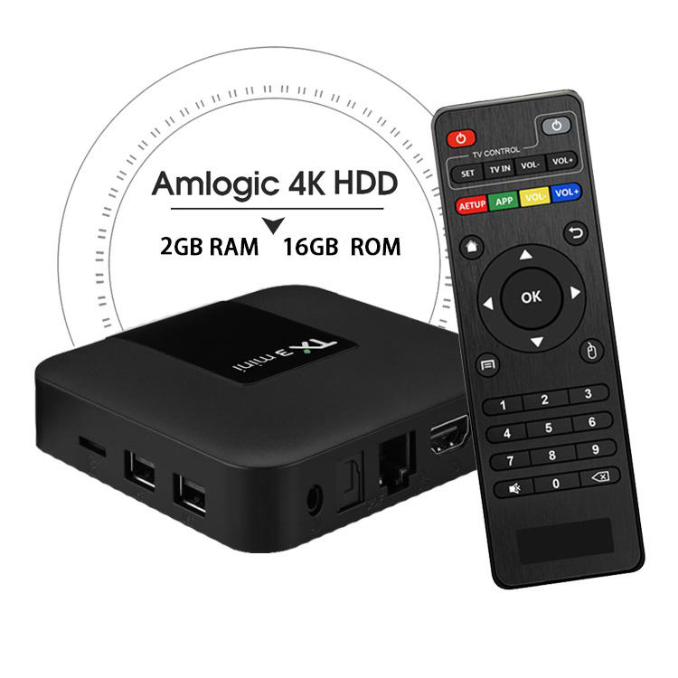 Top selling Set Top Box TX3 Mini S905W Android 8.1 2+16 2.4G Wifi Android TV Box Set Top Box