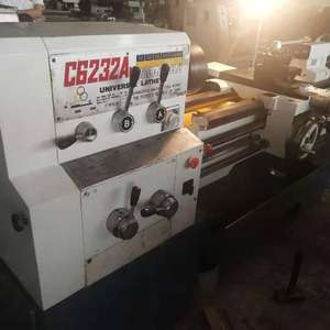 Used C6232A Metal Universal Lathe Machine